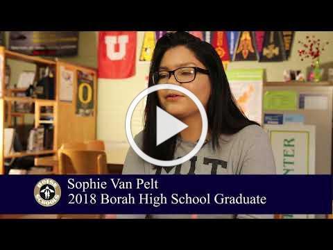 Meet Borah High School 2018 Graduate Sophie Van Pelt