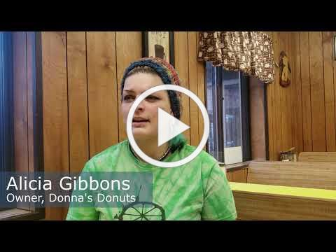 FACES of Flint: Alicia Gibbons, Donna's Donuts