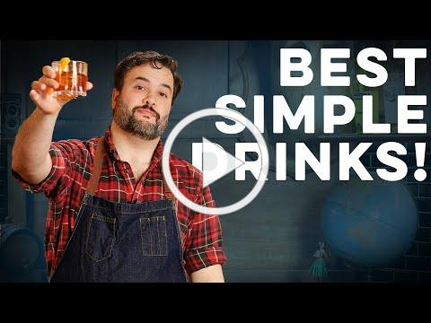 Top 5 Three Ingredient Drinks! | How to Drink