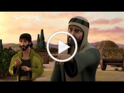 Boaz Notices Ruth