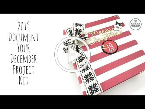 Document Your December 2019 Project Kit - Layle By Mail