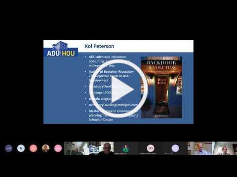 ADU Workshop 1 - Benefits and Basics