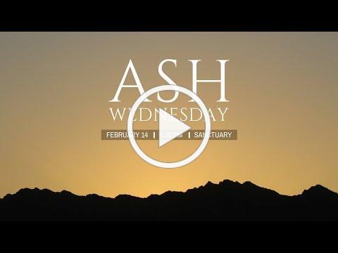 2018 Ash Wednesday Promo