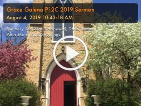 Grace Galena P12C 2019 Sermon
