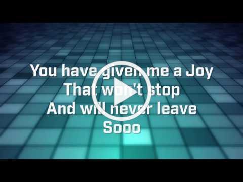 Joy - Planetshakers (Lyrics)