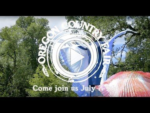 Oregon Country Fair 2017 Official Promo Video