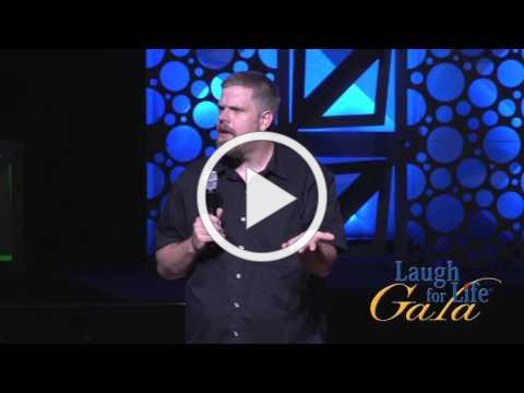 Laugh for Life Gala 2015 - Comedian Jonnie W. (Church Nursery)