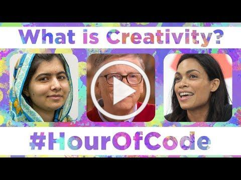 What is Creativity? (with Bill Gates, Malala, Rosario Dawson, Lisa Loeb and Susan Wojcicki)