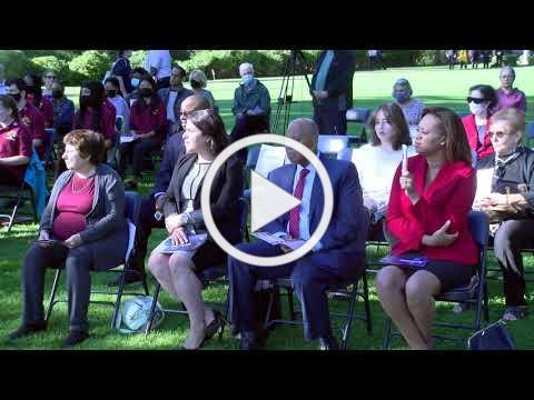 City of White Plains September 11th ceremony - 20th Anniversary September 11, 2001.