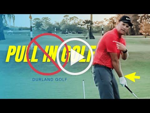 GOLF TIP | How To GET RID OF A PULL In Golf