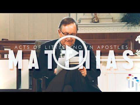 Acts of Little-Known Apostles: Matthias