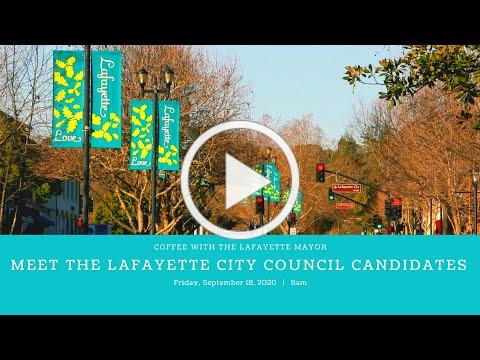 Coffee with Lafayette Mayor Mike Anderson: Meet the Lafayette City Council Candidates