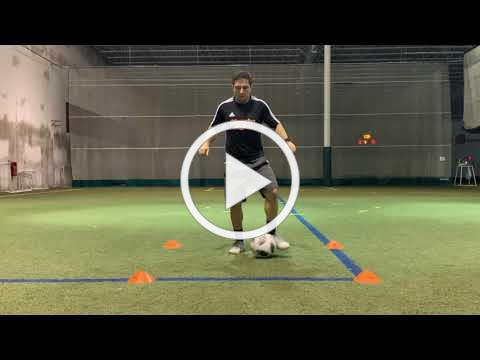 Back and Across - Box Dribble
