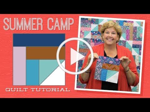Make a Summer Camp Quilt with Jenny Doan of Missouri Star! (Video Tutorial)