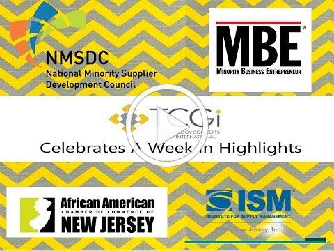 TCGi October Highlights! MBE Mag/NMSDC/AACCNJ/ISM-NJ