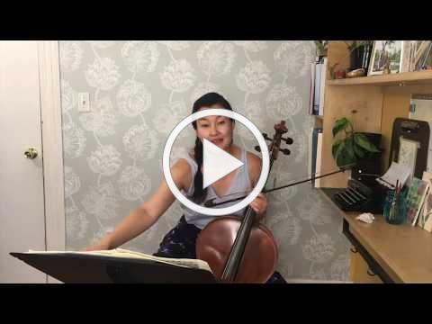 June 3, 2020: Wednesday Online Recital Series featuring Shirley Hunt, cello