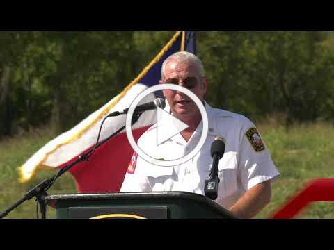 Plano Fire-Rescue Fire Training Center Groundbreaking
