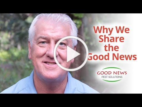 Dean Burnside shares his personal testimony and the Good News mission