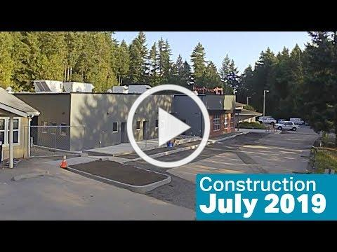 Kitsap Humane Society Construction, July 2019