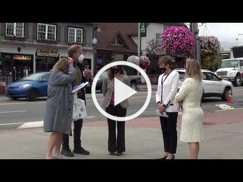 Where's Dayna: Lake George Area Fall Events & Health/Safety Pledge Press Conference