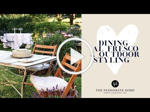 Dining Al Fresco | Outdoor Styling