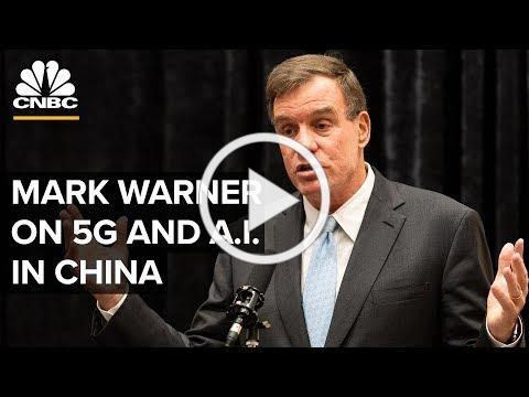 Senator Mark Warner on China's use of 5G and AI - 06/17/2019