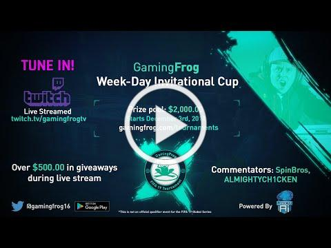Gaming Frog Week-Day Invitational Tournament