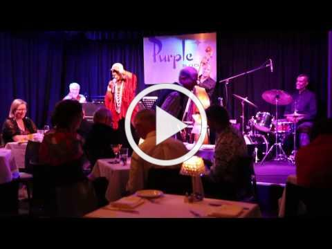 ROSE MALLETT performing A TRAIN at The Purple Room Palm Springs