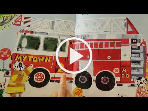 At the Firehouse by Anne Rockwell