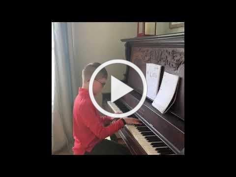 Jack on piano
