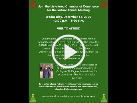 Annual Meeting 2020 - Lisle Area Chamber of Commerce