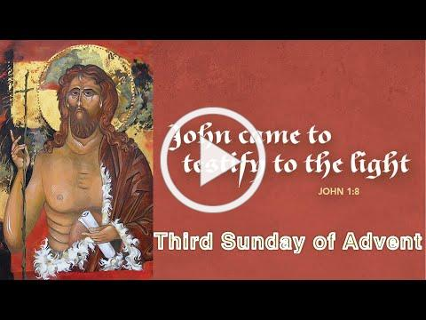 Service of the Word for the Third Sunday of Advent - Dec 13
