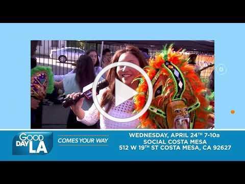 Good Day LA Comes your Way Costa Mesa!