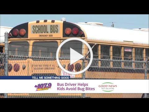 Jones & Company Good News Segment: School Bus Driver Solves Pest Problem for Kids