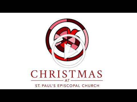 St. Paul's Episcopal Church Christmas 2020 Service