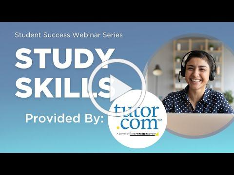 Spring Student Success Series: Study Skills + Q&A