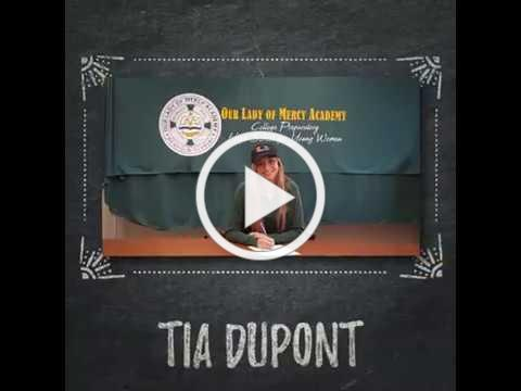 OLMA's Tia DuPont Signs with Miami!