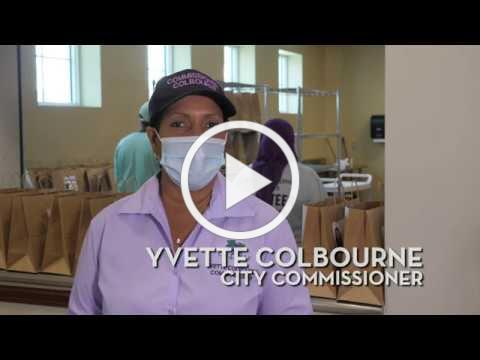 Commissioner Colbourne | May 8th Senior Food Drive