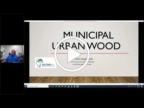 NC Urban Wood Webinar: First Steps for Municipal Urban Wood Programs