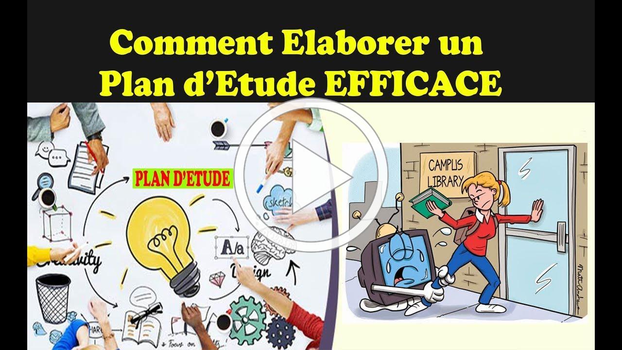 Comment Elaborer un Planning d'Etude Efficace pour REUSSIR | Back to school #TemaStudy