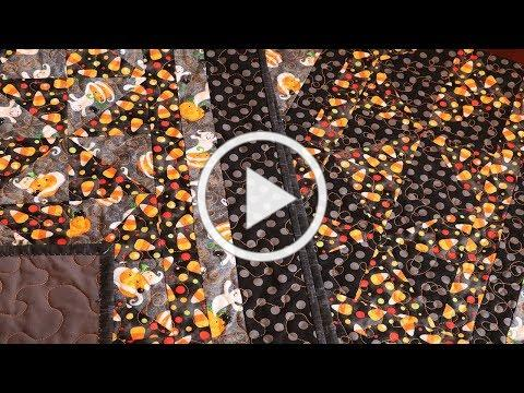 HALLOWEEN TABLE RUNNER | QUILTING TABLE RUNNERS