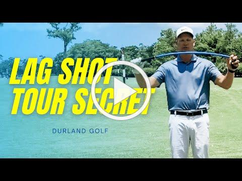 GOLF TRAINING AID | How Training With LAG SHOT Teaches This Little Known TOUR SECRET