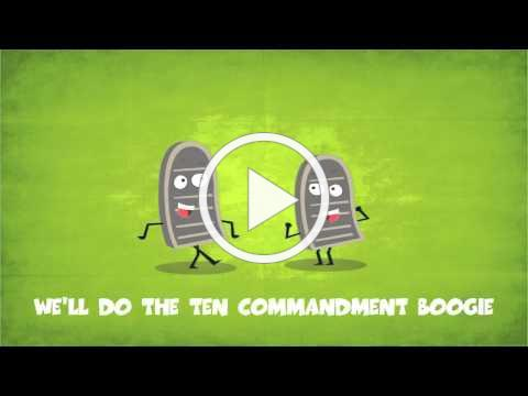 Go Fish - The Ten Commandment Boogie - Great Music For Kids!