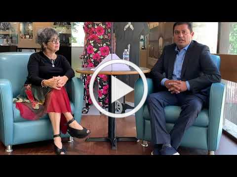 Senator Ben Hueso talks with Sandra Scheller about his life in the South Bay of San Diego.