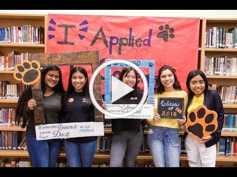 Los Amigos College Application Day