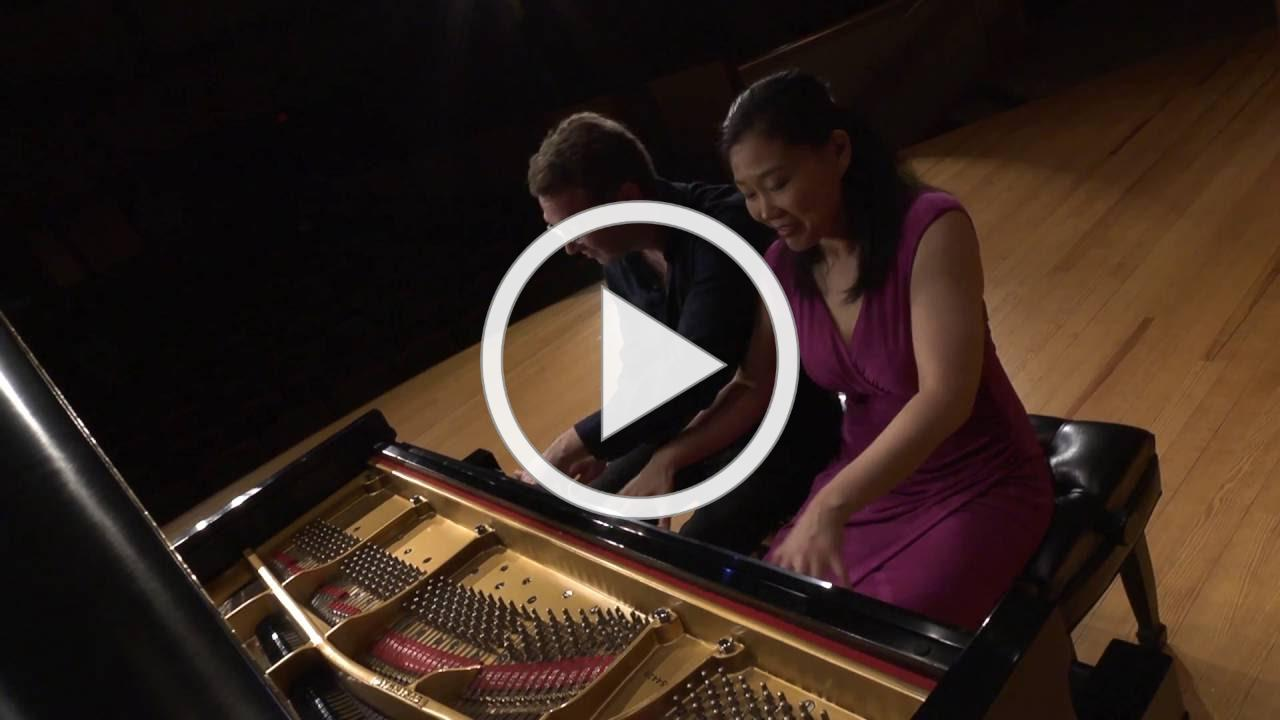 "Beethoven Op. 59 No. 3 ""Razumovsky"" for piano four hands"