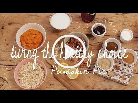 Healthy Pumpkin Pie | Living The Healthy Choice