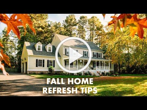 Fall Home Refresh Tips - A Spin on Spending