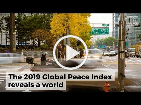 2019 Global Peace Index key findings in 60 seconds