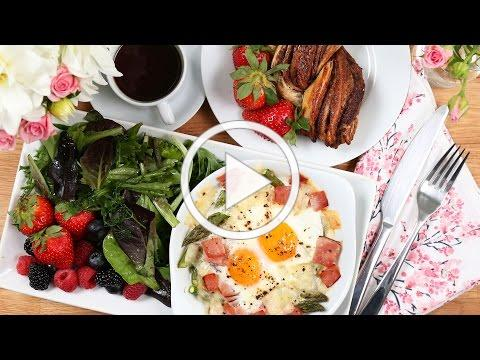 3 Easy-But-Impressive Mother's Day Brunch Recipes!